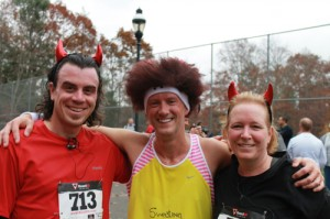 Runners at the Devil Made Me Do It run in 2012
